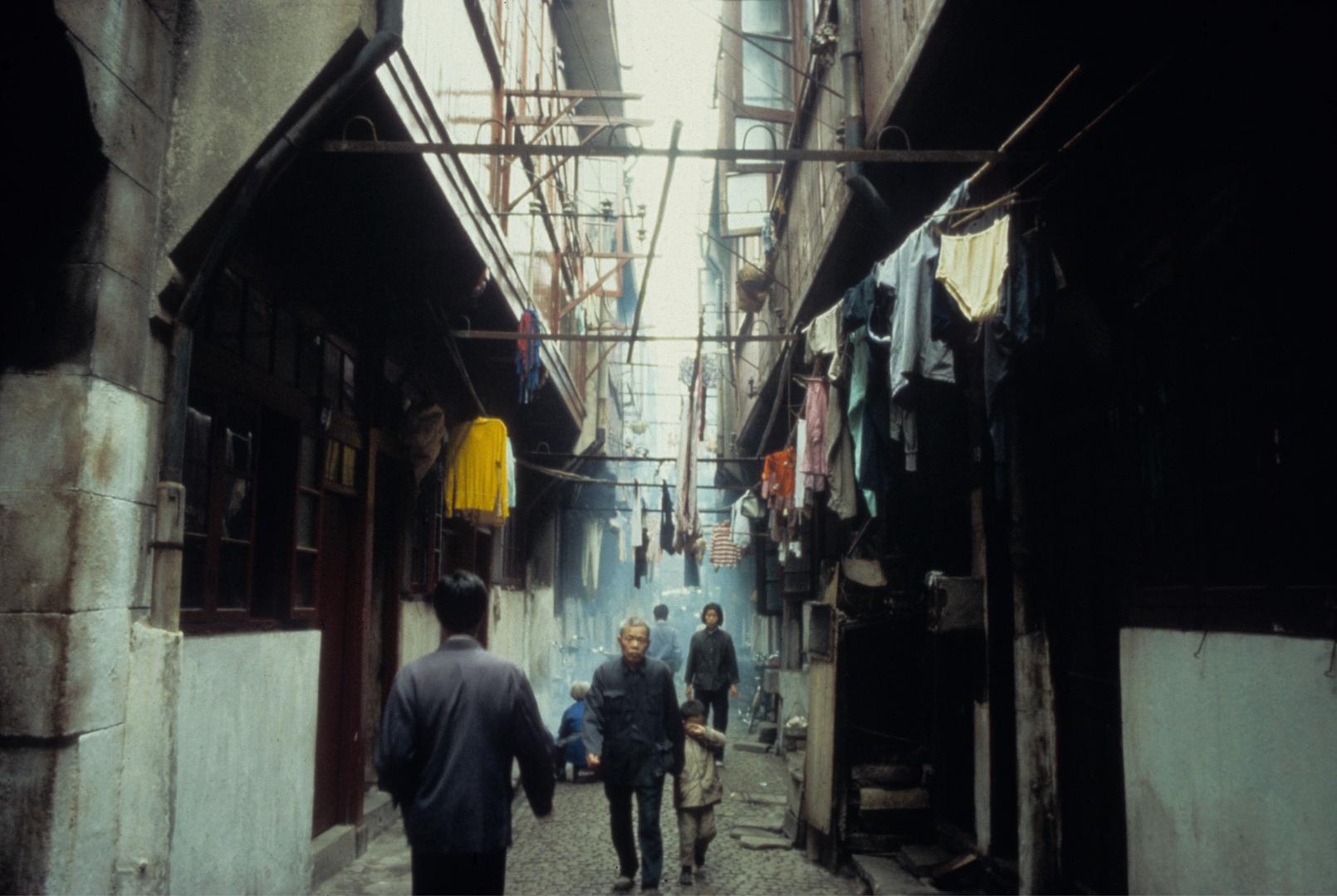 Shanghai Alley 1982 (22×14.75)